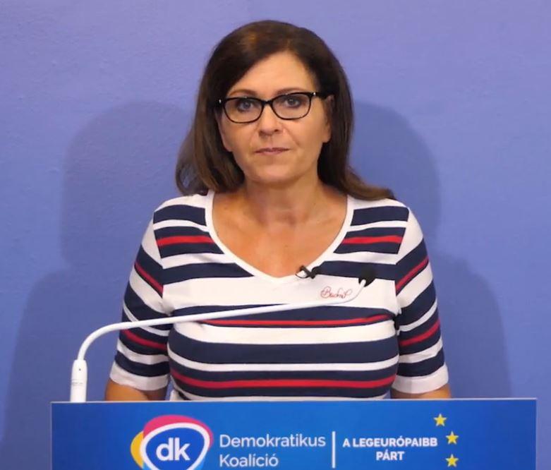 Kálmán Olga és a Demokratikus Koalíció követeli,hogy ingyeneseklegyenek a balatoni strandok
