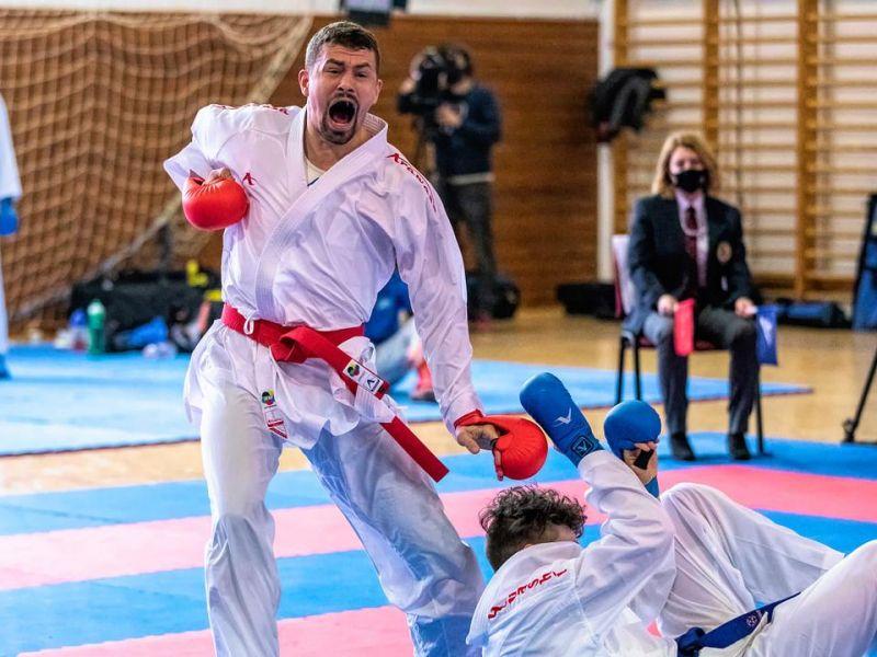Kijutott az olimpiára a karatés Hárspataki Gábor