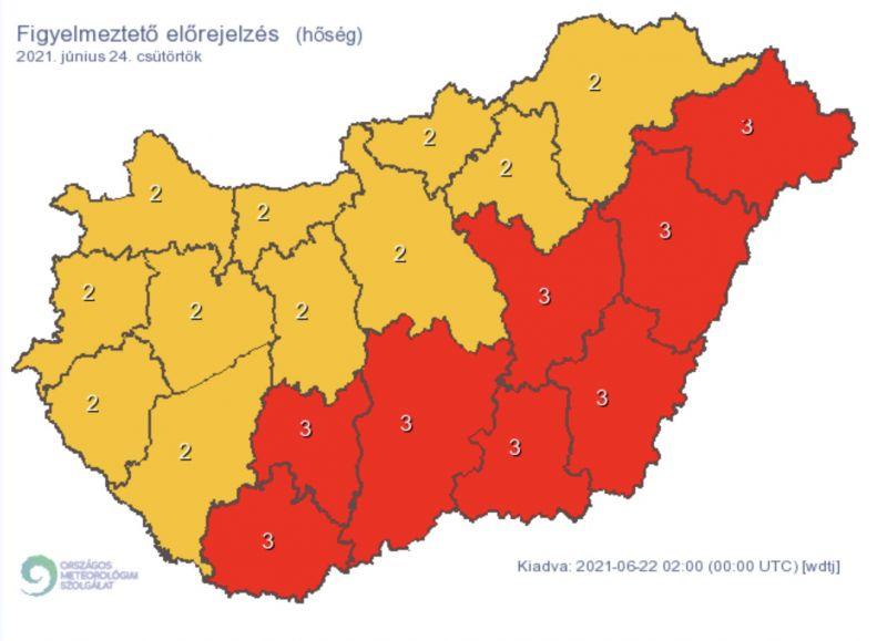 A fél országra kiadták a legdurvább riasztást – mutatjuk