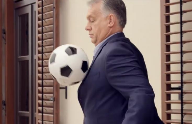 Orbán be van sózva, videóval üzent a magyar válogatottnak