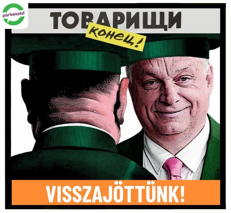 Párbeszéd: Hiába követelte Orbán a szovjetek kivonulását, most szervilizmussal dörgölődzik hozzájuk