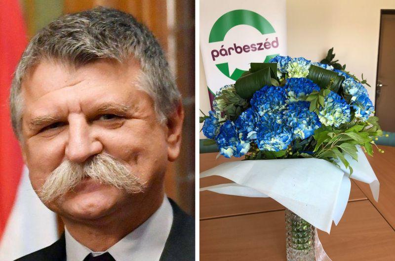Kövér László virágot küldött Szabó Tímeának, de valami nagyon nem stimmelt a csokorral