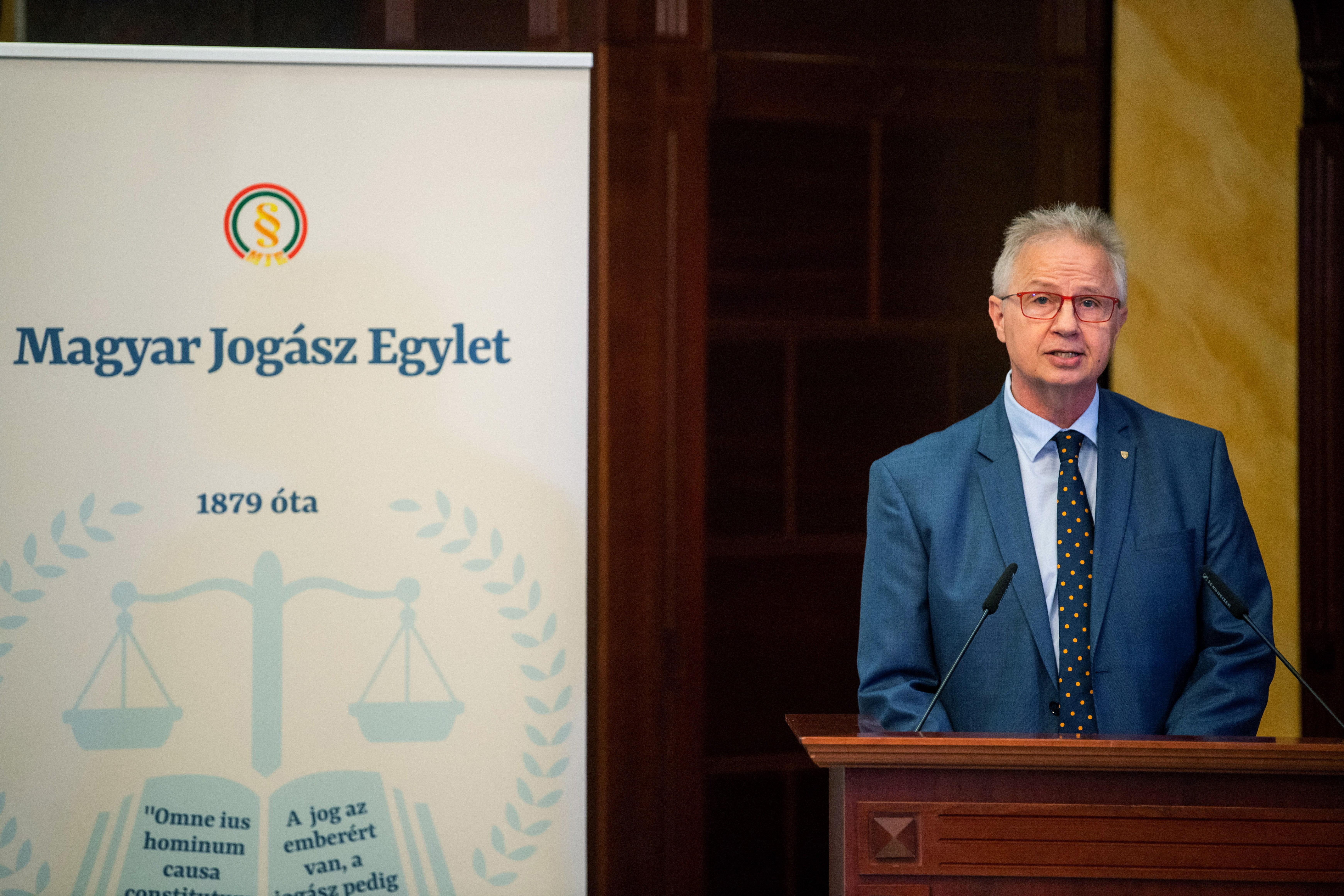 """Trócsányi László egykori igazságügyi miniszter: """"Nem ismerem a Pegasust"""""""