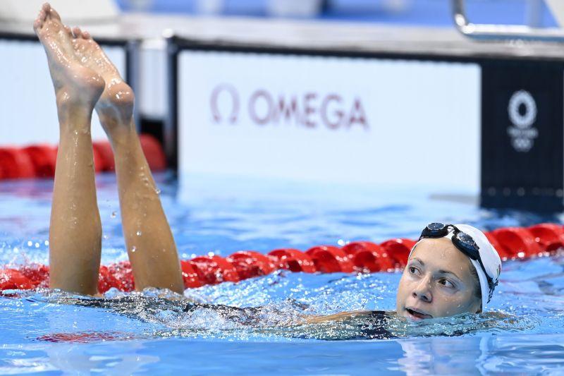 Kapás Boglárka döntős 200 méter pillangón – Elmondta, szerinte ki a legesélyesebb az olimpiai aranyra