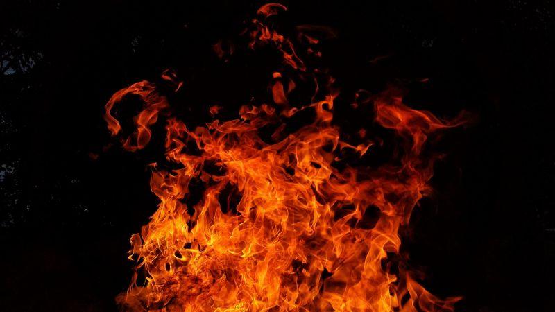 Hatalmas lángok csaptak fel az M7-es autópályán