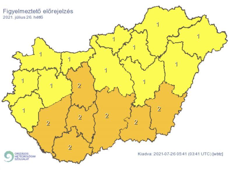 Döbbenetes dolog tart Magyarország felé – kiadták a riasztást