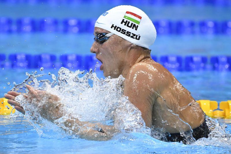 Három magyar úszó is döntőbe jutott