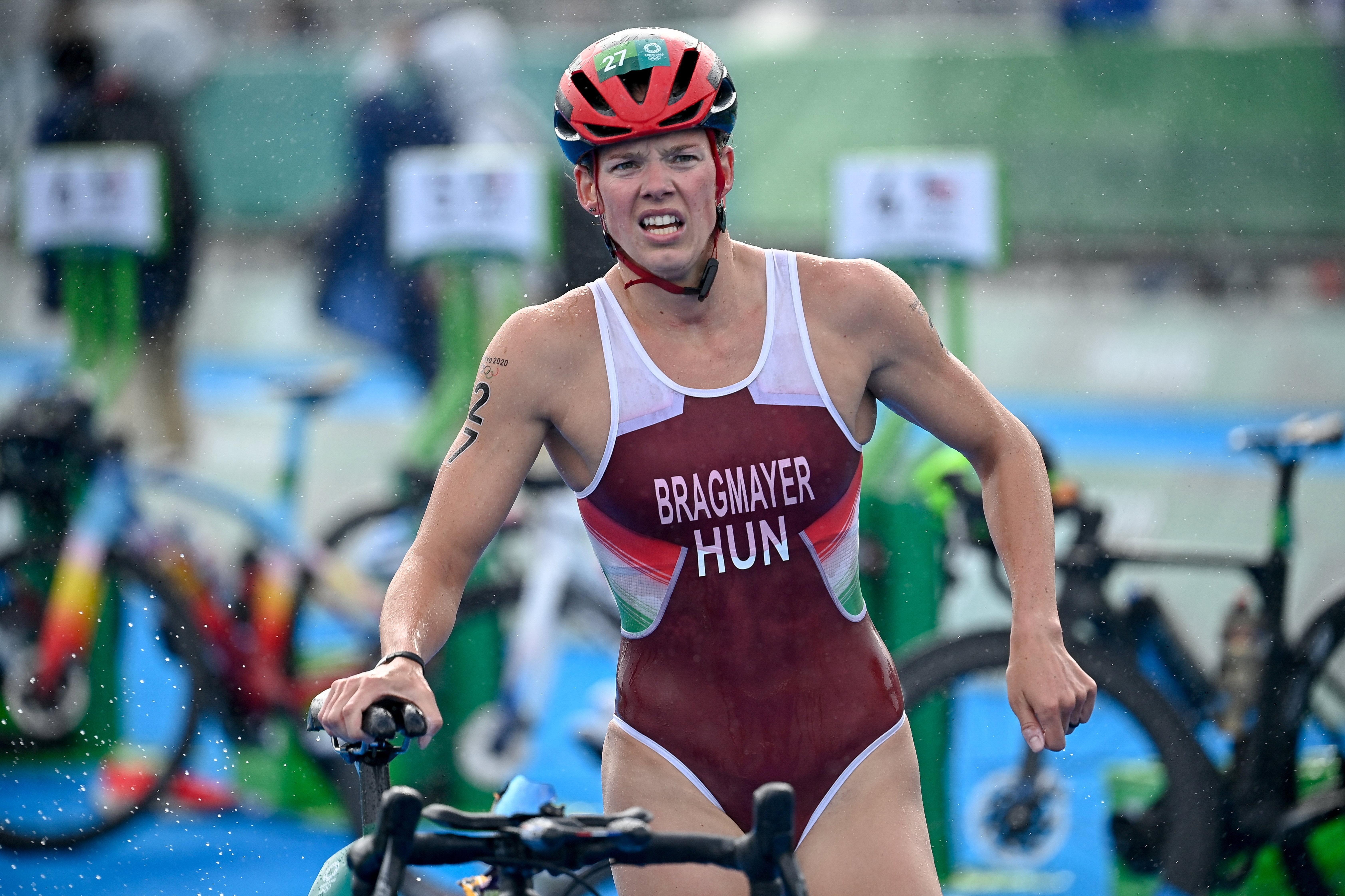 Tokiói olimpia: 12. lett Bragmayer Zsanett triatlonban