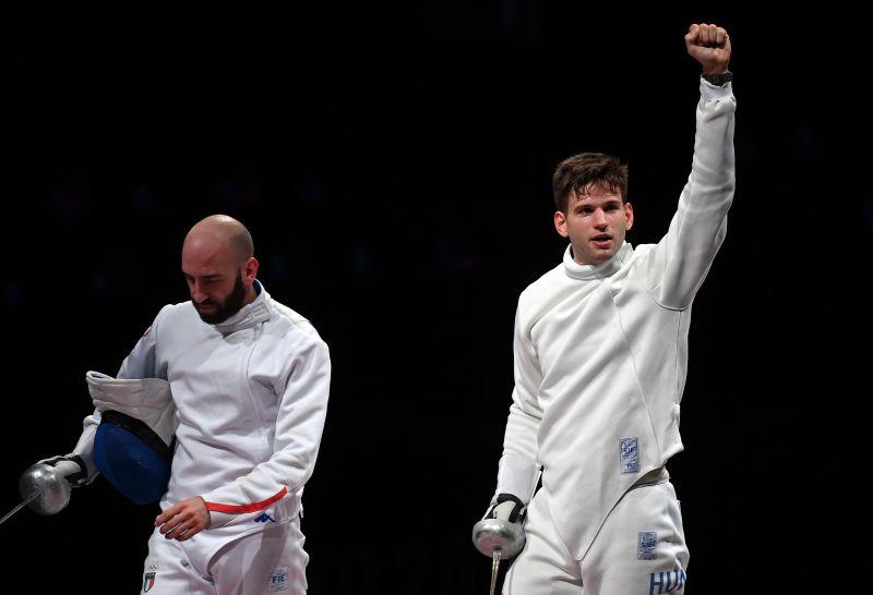 Olimpiai aranyért küzd Siklósi Gergely, bejutott a döntőbe