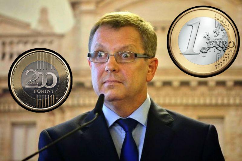 """Matolcsy megszólalt az euróról – """"Érdemes nagyra értékelni a forintot, az euró nem hozott gazdagságot"""""""
