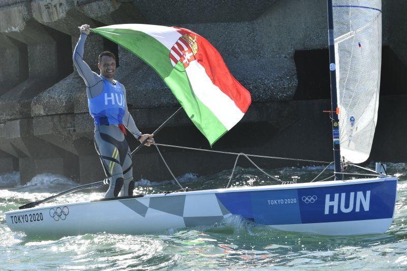 41 év után ismét magyar olimpiai érem vitorlázásban