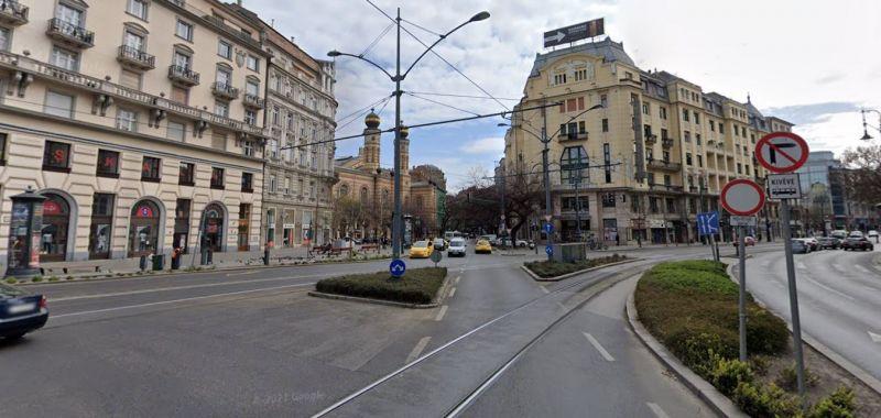 Hétfőtől változnak az egyirányúsítások Belső-Erzsébetvárosban