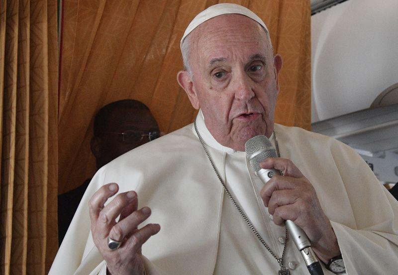 Ferenc pápa: megérintett a magyarok szellemisége