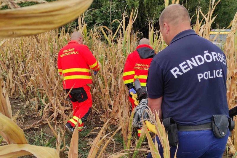 Másfél nap után, helikopter segítségével találtak meg a rendőrök egy 79 éves bácsit