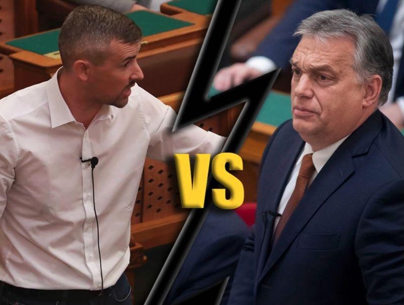 """""""Orbán visszaadná, amit ellopott"""" – keményen vágott vissza Jakab, aki nem az aprót kéri, hanem mindent"""