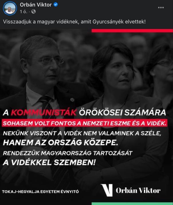 """""""Kifosztottad a vidékieket, tönkretetted őket"""" – Orbán visszaadná amit a Gyurcsányék elvettek"""