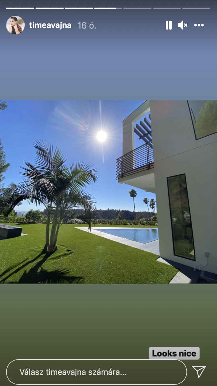 Így néz ki Vajna Tímea 2,5 milliárd forintért vásárolt luxusotthona – videóval