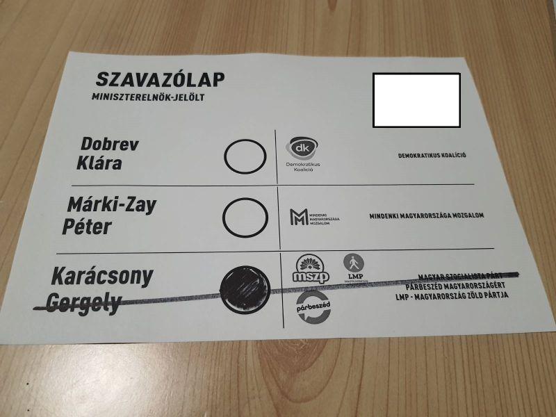 Dobrevre szavazásra buzdítja a Fidesz híveit egy kormánypárti újságíró az ellenzéki előválasztáson