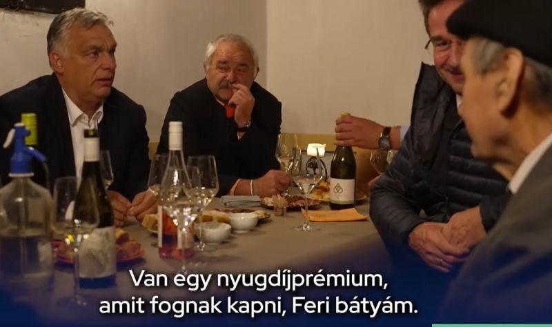 """Orbán kínos videóban szédít egy idős bácsit, hogy milyen sok pénzt """"ad"""" majd neki"""
