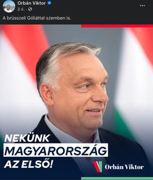 Bibliai óriással harcol képzeletben Orbán – szétszedték a kommentelők