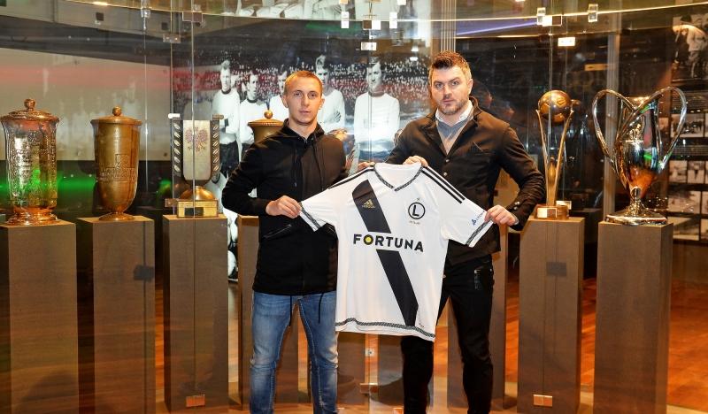 Nikolics szekrényét kapta meg a Legia új magyar játékosa